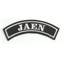 Embroidered Patch JAEN 11cm x 4cm