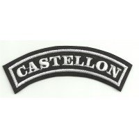Embroidered Patch CASTELLON 11cm x 4cm