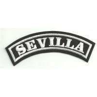 Embroidered Patch SEVILLA 11cm x 4cm