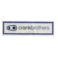 Textile patch CRANKBROTHERS 10cm x 3cm