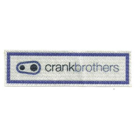 Parche textil CRANKBROTHERS 10cm x 3cm