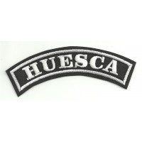 Embroidered Patch HUESCA 11cm x 4cm