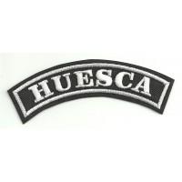 Parche bordado HUESCA 11cm x 4cm