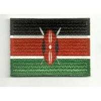 Parche bordado y textil KENYA 7cm x 5cm