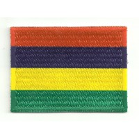 Patch embroidery and textile MAURICIO 4cm x 3cm