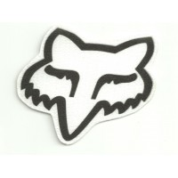 Textile patch FOX LOGO 8cm x 6,5cm