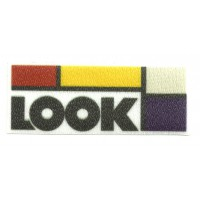 Textile patch LOOK 9CM X 3,5CM