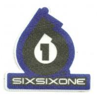 Textile patch SIXSIXONE 7CM X 7CM