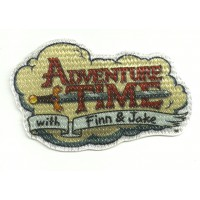 Parche textil ADVENTURE TIME 6CM X 8CM