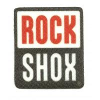 Parche textil ROCK 5CM X 6CM