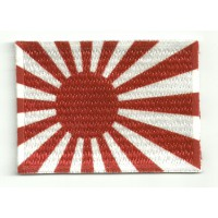 Patch textile and embroidery FLAG 1 KAMIKAZE 7CM x 5CM