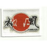 Parche textil y bordado BANDERA 2 KAMIKAZE 7CM x 5CM