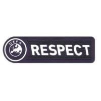 Parche textil y bordado RESPECT 4,1cm x 1,3cm