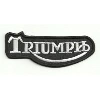 Parche bordado TRIUMPH CLASICO 20cm x 8cm