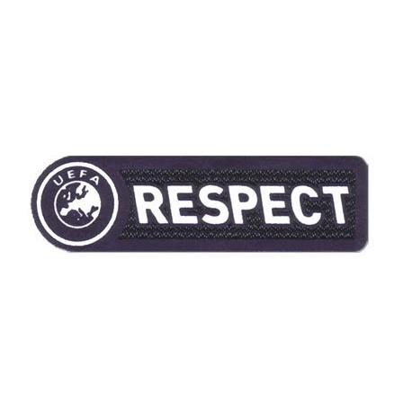 Parche textil y bordado RESPECT 8,5cm x 2,7cm