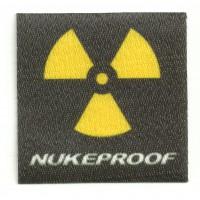 Textile patch NUKEPROOF 6CM X 6CM