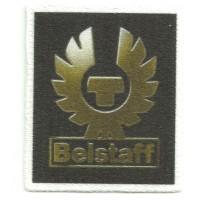 Parche textil BELSTAFT 4,5cm x 5,5cm