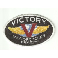 embroidery patch VICTORY MOTORCYCLES POLARIS 8cm x 5,5cm