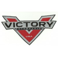 embroidery patch VICTORY MOTORCYCLES V 27cm x 15cm