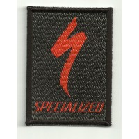 Textil and embroydery patch SPECIALIZED NEGRO 5cm x 7cm