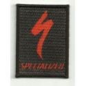 Parche textil y bordado SPECIALIZED NEGRO 5cm x 7cm