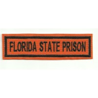 Patch embroidery FLORIDA STATE PRISON 10cm x 2.8cm