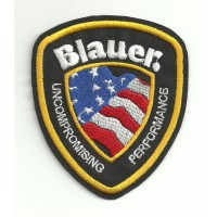 Patch embroidery BLAUER 3.3cm x 4cm