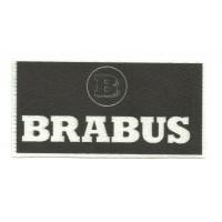 Parche textil BRABUS 9cm x 4cm