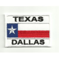 Parche bordado TOP GUN TEXAS DALAS 7cm x 5cm
