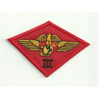 Parche bordado TOP GUN THIRD MARINE AIR GROUP 9cm x 6cm