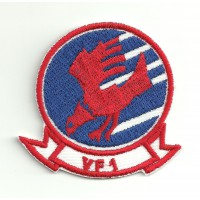Patch embroidery TOP GUN VF-1 THEATRICAL 5cm x 6cm