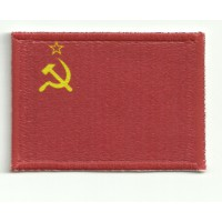 Patch textile and embroidery FLAG URSS 4cm x 3cm