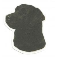 Textile Patch LABRADOR BLACK 5cm x 6,5cm