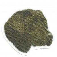 Textile Patch LABRADOR BROWN 6,5cm x 6cm