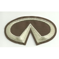 Patch embroidery INFINITI 8.5cm x 4.5cm