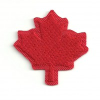 Patch embroidery LEAF CANADA 6cm x 6cm