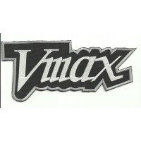 Parche bordado VMAX 9cm x 4cm