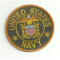 Parche textil y bordado UNITED STATES NAVY 7,5cm