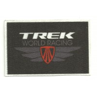 Parche textil TREK WORLD RACING 8cm x 5cm