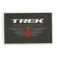 Textile patch TREK WORLD RACING 8cm x 5cm
