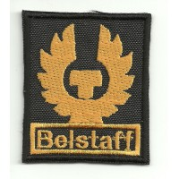 Patch embroidery BELSTAFF 6cm x 7,5cm