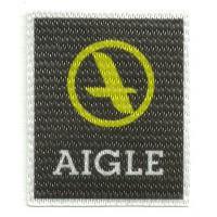 Parche textil AIGLE 5,5cm x 6,5cm