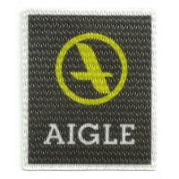 Textile patch AIGLE 5,5cm x 6,5cm
