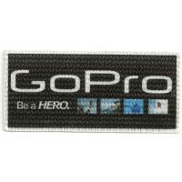 Textile patch GOPRO FOTOS 10cm x 5cm