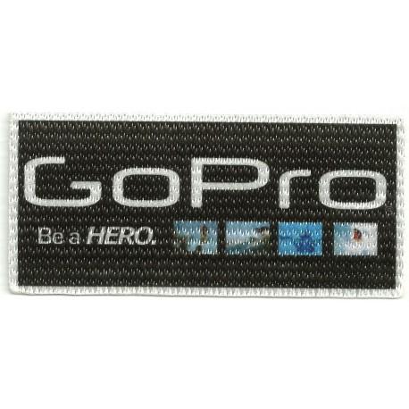 Parche textil GOPRO FOTOS 10cm x 5cm
