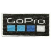 Parche textil GOPRO 10cm x 5cm