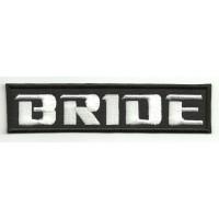 Parche bordado BRIDE 14cm x 3cm