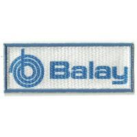 Parche textil y bordado BALAY 10cm x 4cm