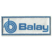 Textile patch textile and embroidrey BALAY 10cm x 4cm