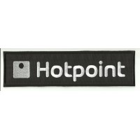 Patch embroidery HOTPOINT 9cm x 2,5cm